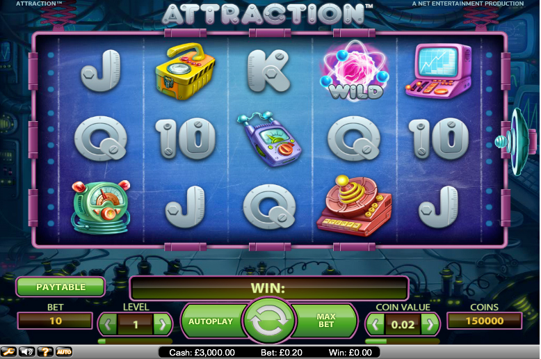 Attraction Slots Themes Online